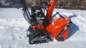 Husqvarna 1827exlt snowblower with tracks