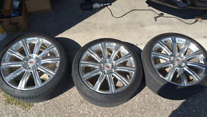 """Cadillac ATS 18"""" Rims and Tires Package Kitchener / Waterloo Kitchener Area image 2"""