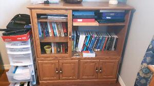 Sauder Office Furniture Set - Display Cabinet