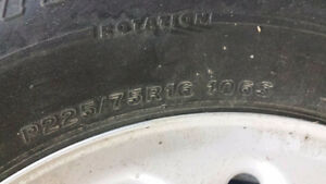 Winter Tires and Rimms - Like new for SUV - $600 OBO