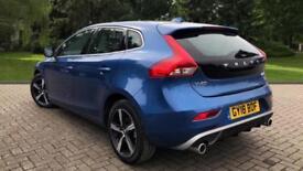 2018 Volvo V40 D2 R-Design Nav Plus W. Winter Manual Diesel Hatchback