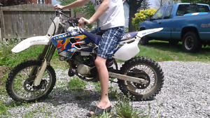 1995 YZ80 Competition Motorcycle