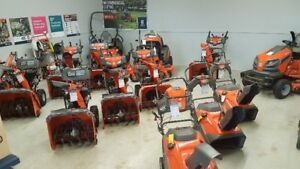 2018 Husqvarna Snow blowers - 0% financing - Free Delivery