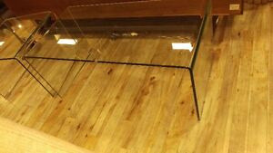 All glass coffee table  !! brand new