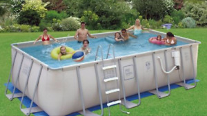 Proseries above ground pool