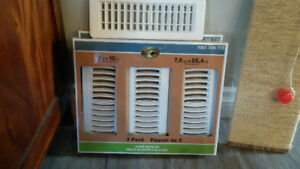 NEW  heat/cooling vents/registers