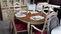 Table + 6 chairs - Used