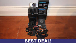 ORIGINAL GOPRO HERO 2 ACTION CAMERA WITH MANY ACCESSORIES