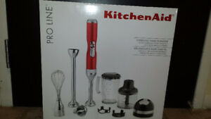 NEW -KitchenAid Pro Line cordless hand blender