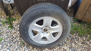 Toyota RAV 4  one only rim and tire