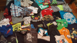 Huge Lot of Boy Clothes Size 6-8