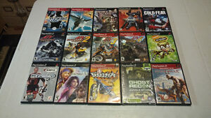 PlayStation 2 games PS2 $5 each