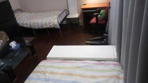Scarborough one large bedroom separate entrance for rent .