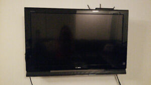 tv Sony Bravia 42 + support mural