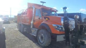 2016 International Workstar Snow Plow/Sander Truck