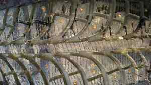 Barely used studded winter 195/65 r15