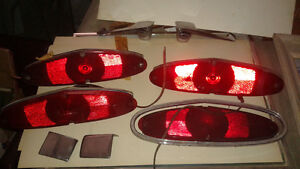 1968-71 Dodge truck parts lot(tail lights, door handles int/ext)