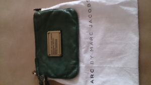 Marc by Marc Jacobs clutch bag...dark leather green