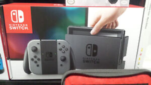 Nintendo Switch Kit Complet + 7 jeux