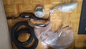 brand new ktm 2016-17 50 sx/sxs parts and 09-15 ktm 65&maxis