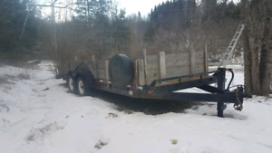 24 foot flatbed trailer