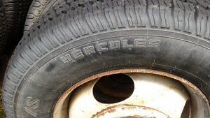 Chevy Rims C/W tires 8.75 x 16.5