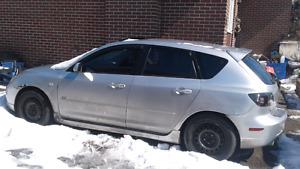 2004 Mazda 3 hatchback for parts or? Sold pending delivery
