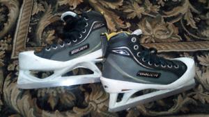 Bauer one 80 goalie skate .. size 4.5