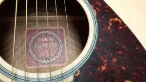 Yamaha FG 700 MS Acoustic guitar Kitchener / Waterloo Kitchener Area image 4