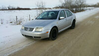 2000 VW JETTA - MK4  2.0L - MANUAL - 2 SET OF TIRES - ONLY $2800