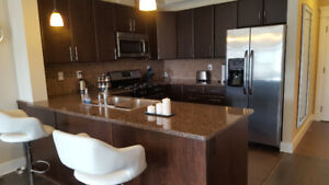 2 Bed/2 Bath semi-furnished condo with 2 Underground Parking