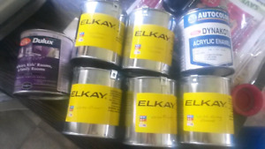 5 cans Alkay Cabinetry Paint New never opened