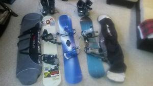 Snowboards - Burton, Firefly, Ride