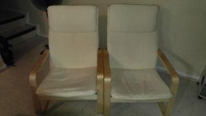 PELLO 1 year (IKEA armchair, 2 for $50, each $30)