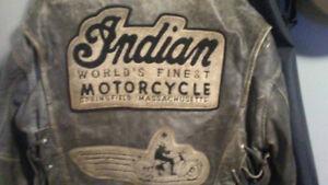 Genuine Indian Motorcycle Leather Jacket