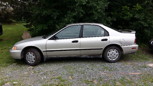 1996 Honda Accord Sedan $1200.00   O.B.O.