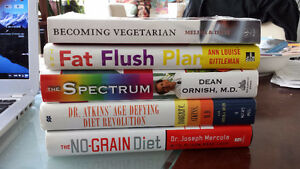 Holistic Health & Nutrition Books for Sale - $5 (Vancouver)