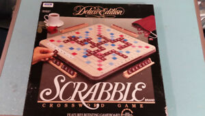 SCRABBLE BOARD GAMES, DELUXE, COOKING, FLASH