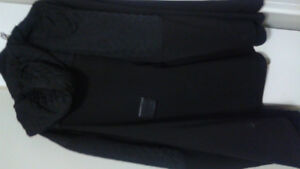 Black coat for sale!