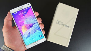 SAMSUNG NOTE 4 WITH BELL 32GB-- WHITE