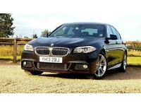 BMW 5 SERIES 520D M SPORT 2.0 AUTOMATIC ALLOYS TINTED 2013 PX