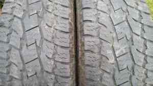 """20"""" All Terrain tires DODGE RAM P275/60R20 TOYO Open Country"""