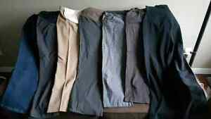 Maternity Dress Pants with full panels - Size 6/8