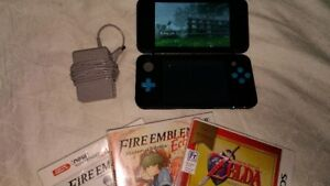 Nintendo 2DS XL with 3 Games