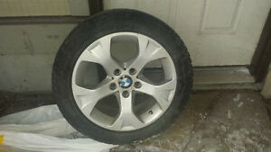 BMW X1 Run Flat Winter Tires and Alloy Rims