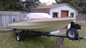 Boat and trailer for 1200$ West Island Greater Montréal image 5