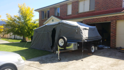 Camper Trailer Horsley Wollongong Area Preview