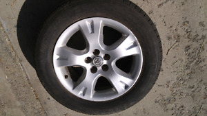 Set of 4 Toyota rims 5x100 Michelin 215 60R16