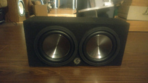 """Clarion subwoofers 12"""""""