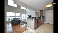 Modern Two bedroom loft style condo